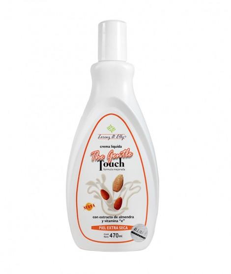 Crema Con Extracto De Almendra Y Vitamina E (The Gentle Touch - Piel extra seca - Coporal)