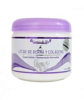 Crema Leche De Burra Y Colágeno (Antiedad)