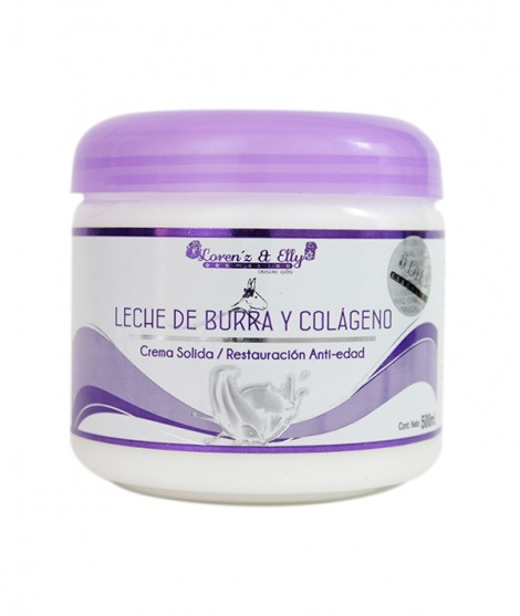 Crema Leche De Burra Y Colágeno