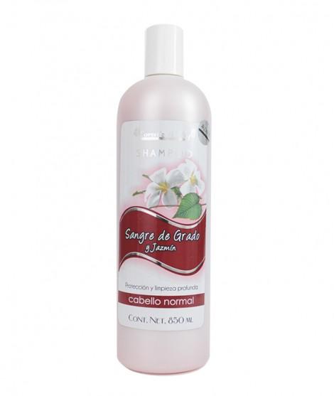 Shampoo Sangre de Grado y Jazmín (Protección y limpieza profunda - Cabello normal
