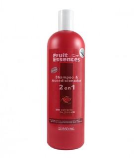 Shampoo y Acondicionador 2 en 1 Con Extracto De Jitomate (Auxiliar en la eliminación de grasa y crecimiento del cabello)