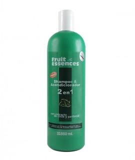 Shampoo y Acondicionador 2 en 1 Con Extracto De Chile Y Pantenol (Fortalece el cuero cabelludo evitando la caída)