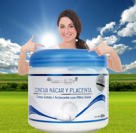 Crema Sólida Aclarante con Filtro solar